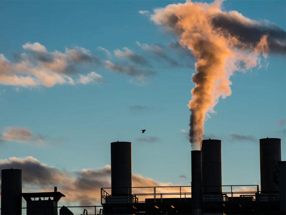 Le palmarès des villes les plus polluées du Canada.