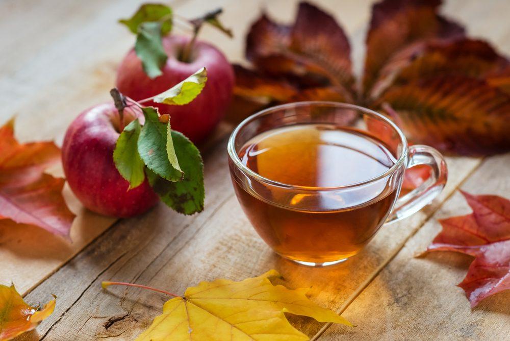 Pommes : croquez-les avec du thé vert