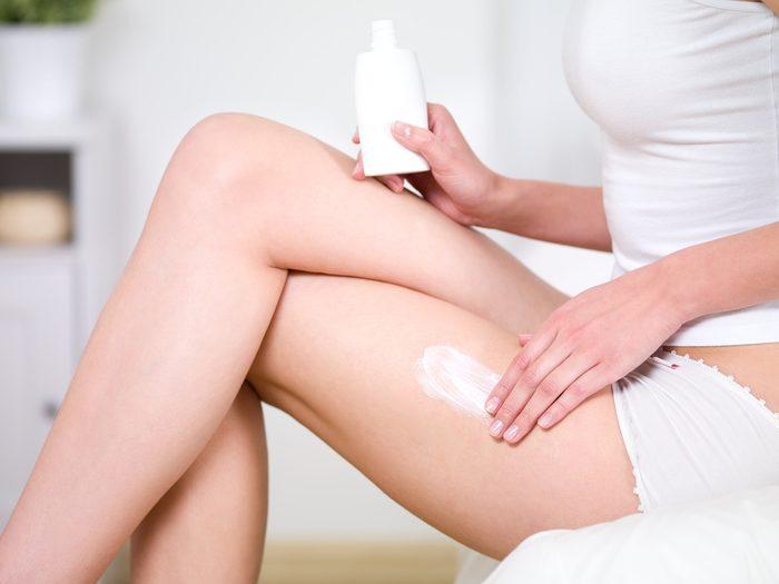 Les crèmes anticellulite sont des produits pour lesquels on ne devrait pas dépenser.