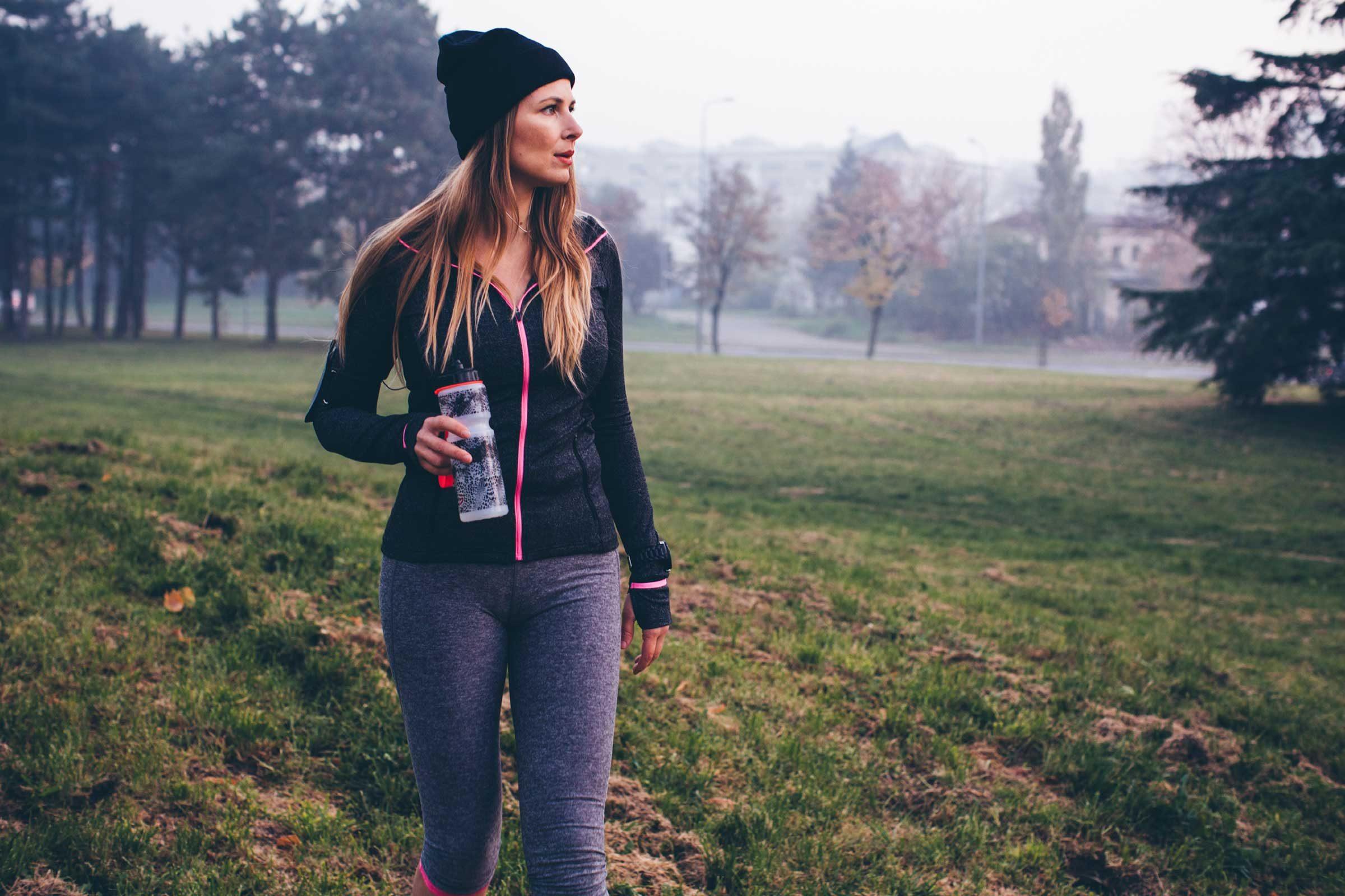 Marcher est un bon truc pour perdre du poids.