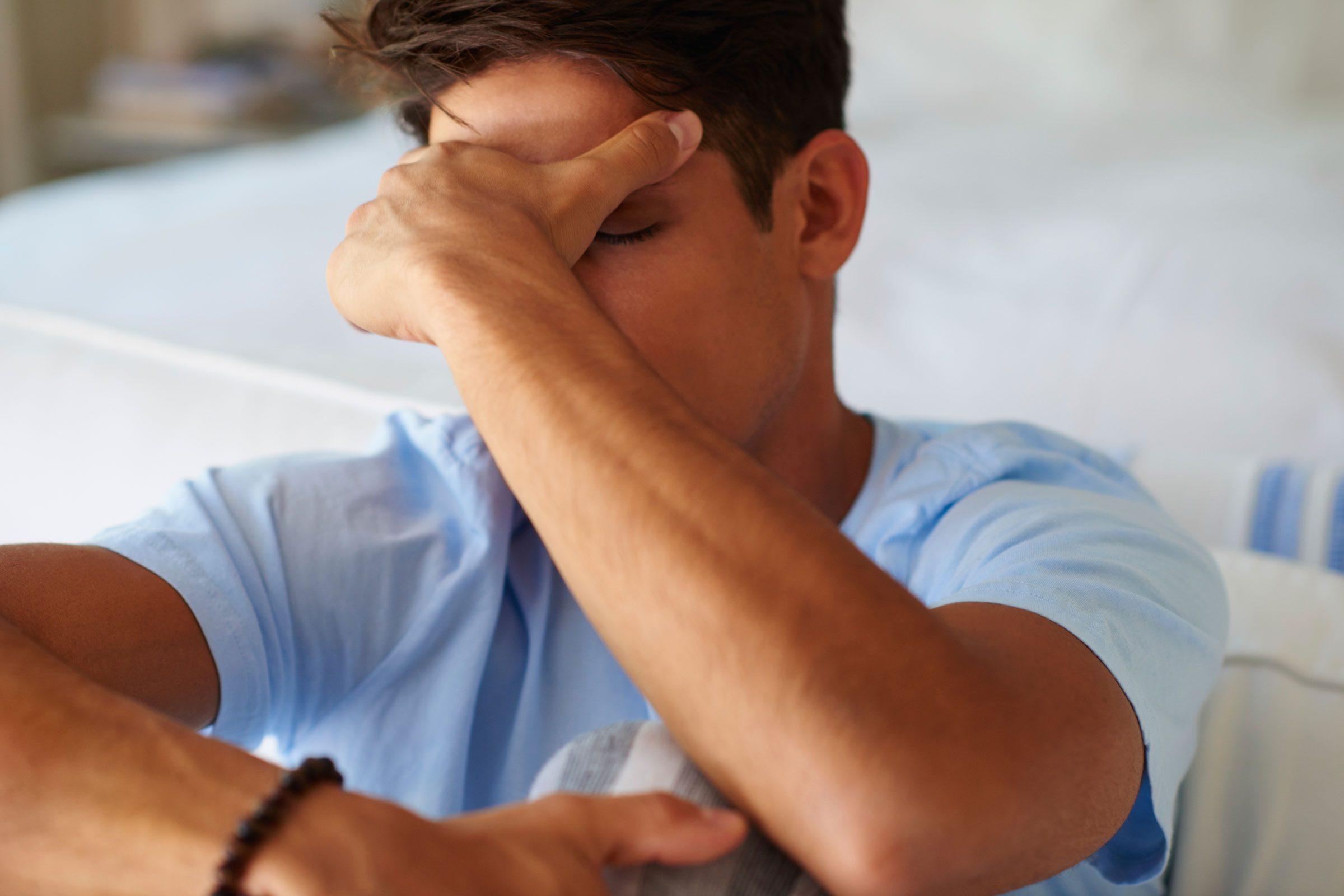 Les adultes TDAH sont déprimés.