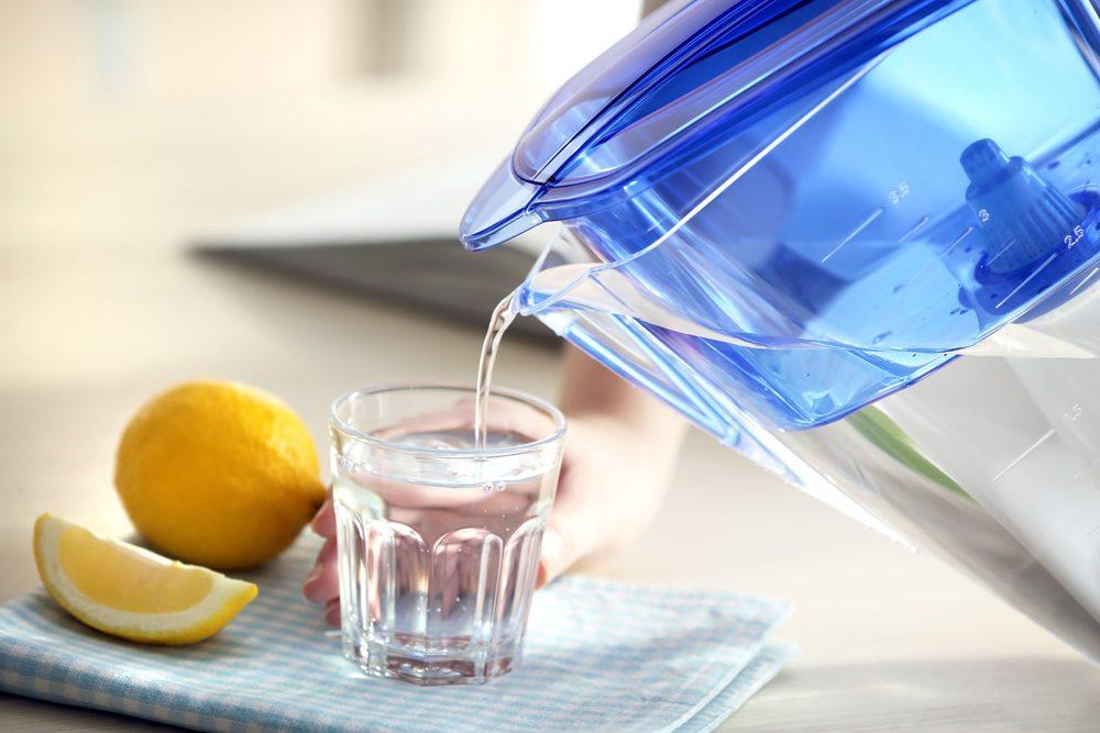 Il est possible de réduire sa consommation d'eau en bouteille.