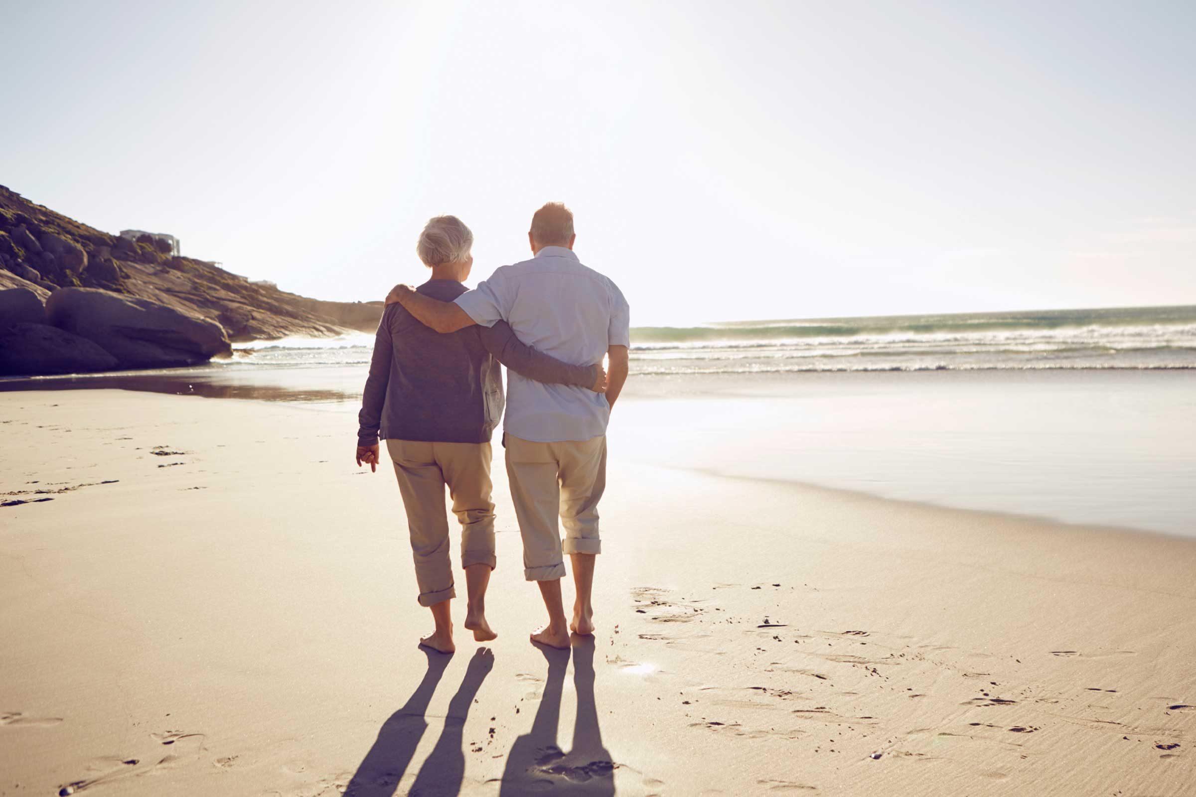 Les gens qui économisent de l'argent ont un plan pour la retraite.