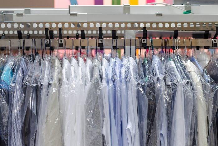 Le nettoyage à sec peut augment er les risques de cancer.