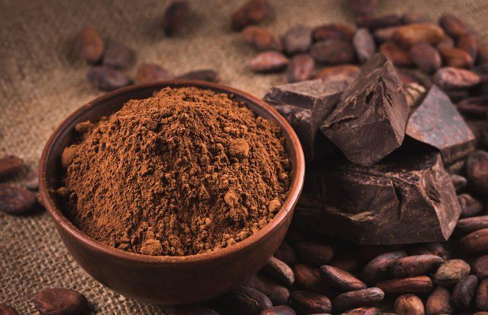 Le cacao est un bon aliment qui brûle les graisses.