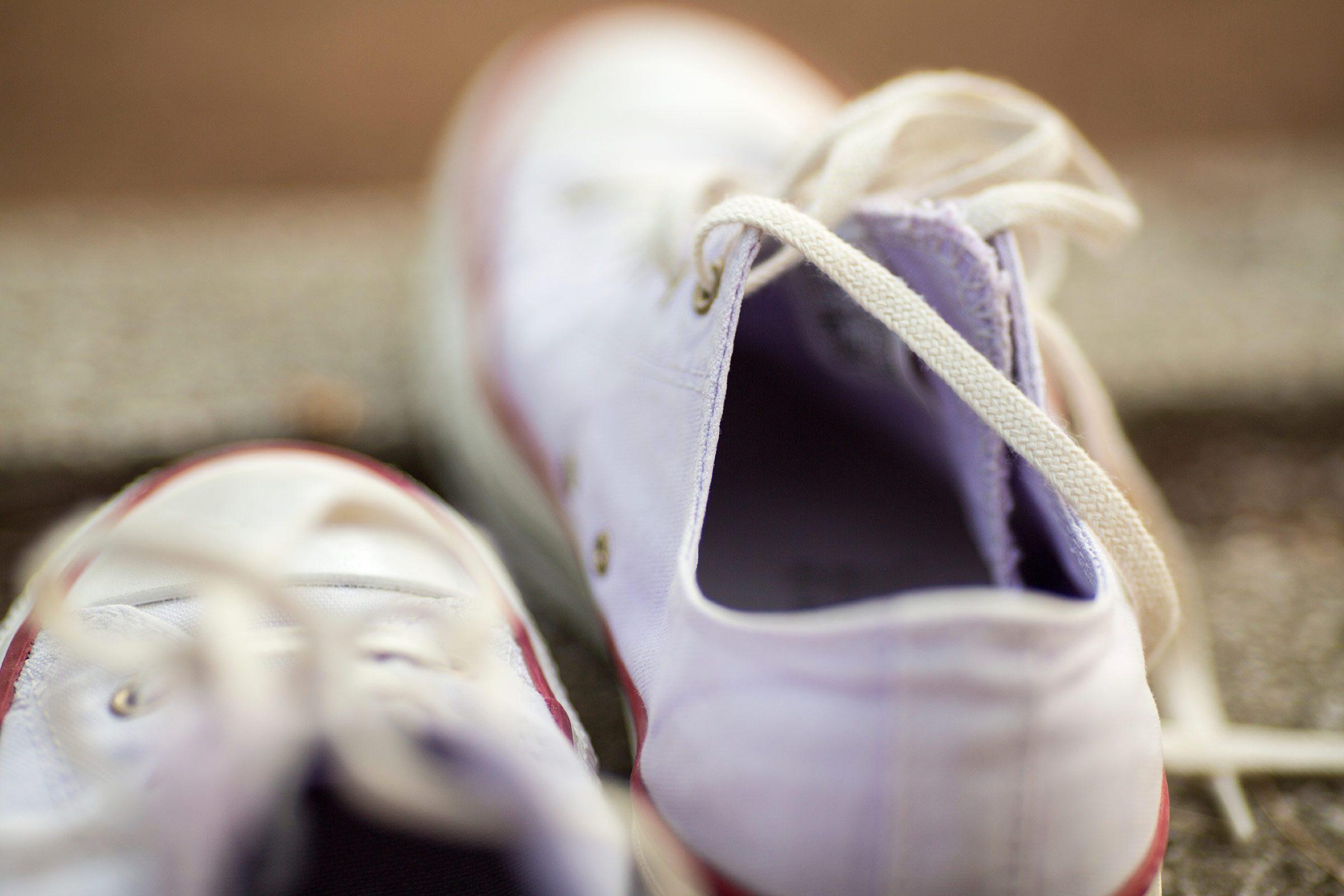 Les chaussures de sport peuvent être lavées à la machine.