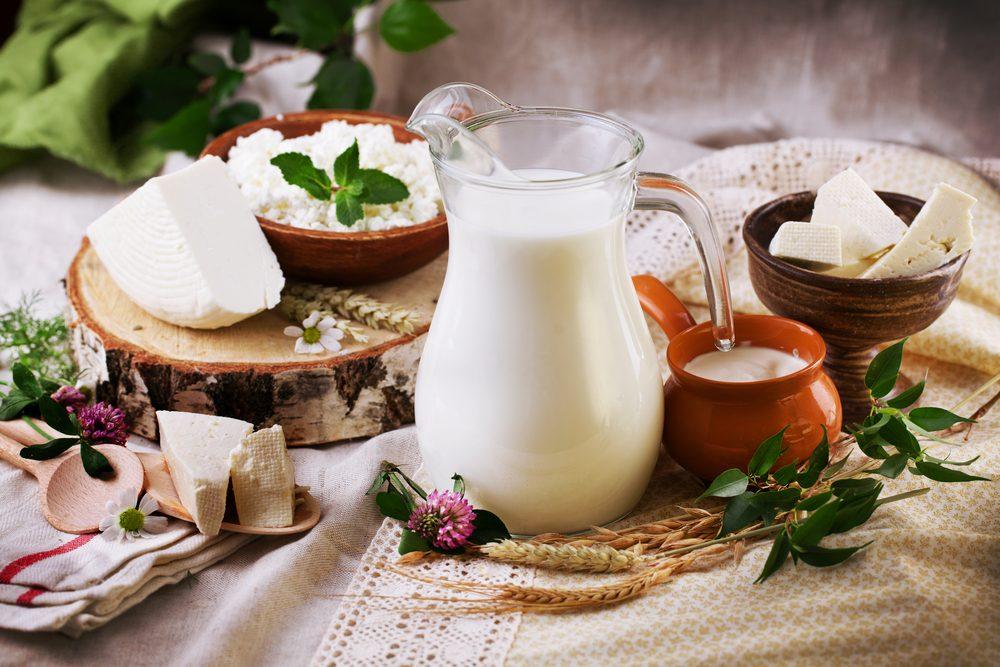 Les produits laitiers contribuent à la perte de poids.