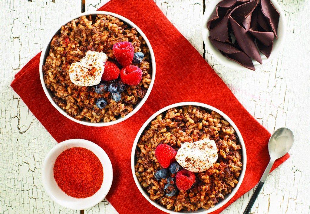 Une recette pour cuisiner le quinoa au chocolat et au chili
