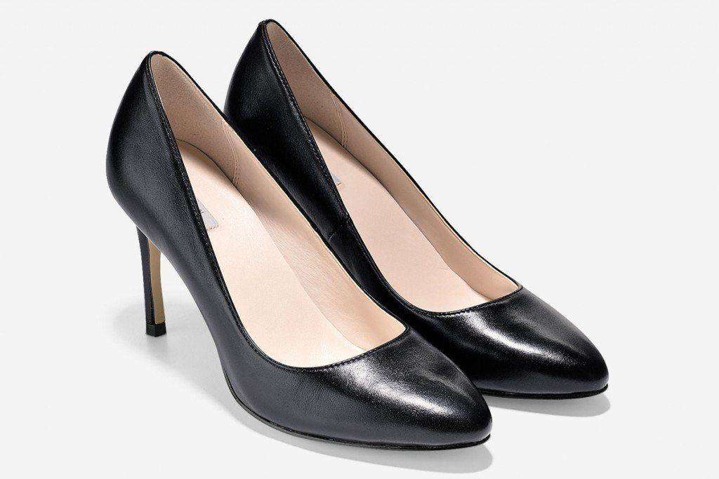 Les souliers alliant mode et confort: Fair Haven Pums de Cole Haan.