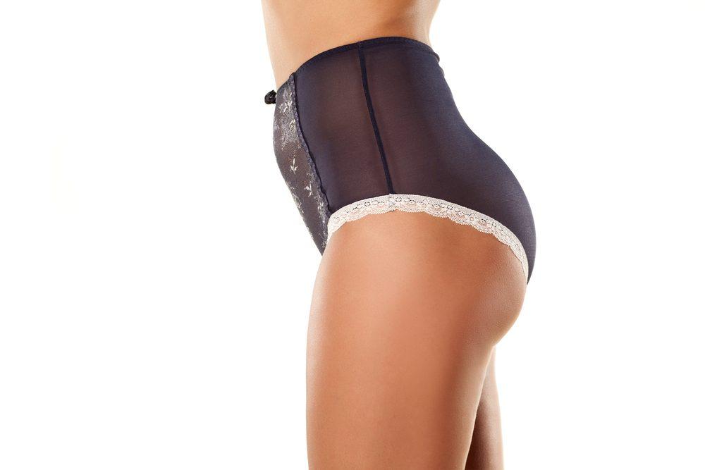Une astuce ventre plat: la culotte amincissante
