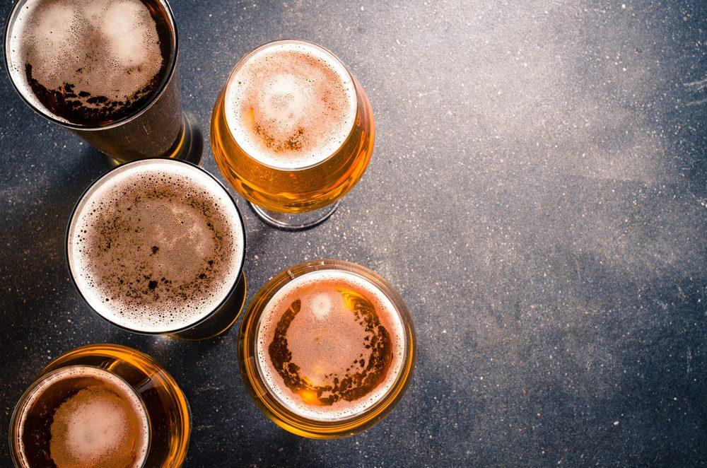 Buvez moins de bière pour un ventre plat
