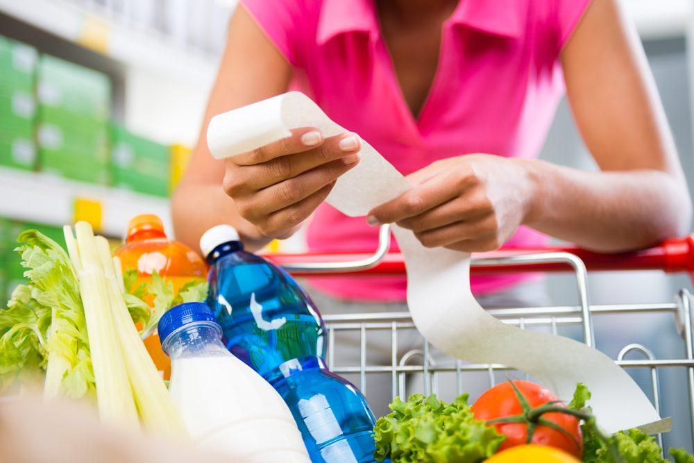 Les marges de profits des supermarchés sont peu faibles.