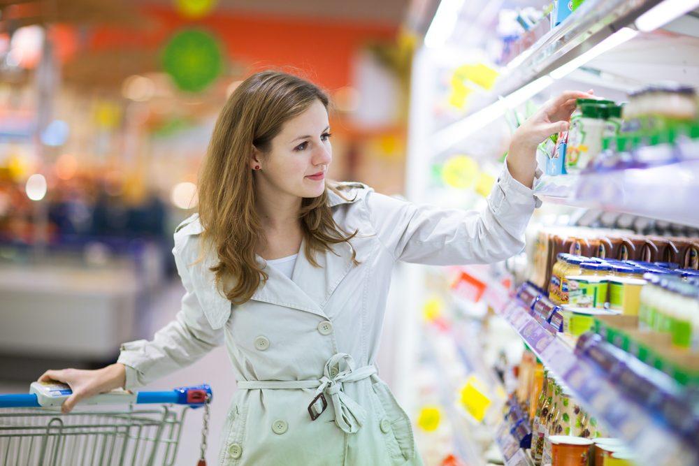 Le flânage est bon pour les affaires des supermarchés.