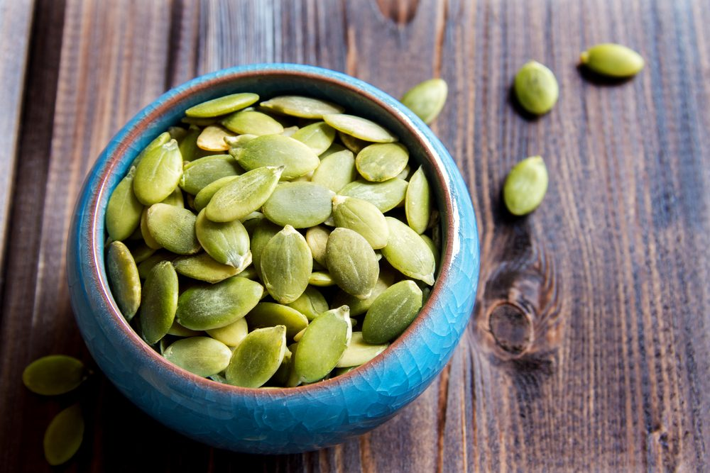 La graine de citrouille verte efficace pour maigrir et perdre du poids.