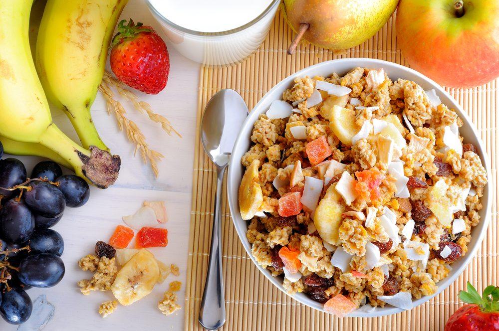 Des idées de déjeuner protéiné