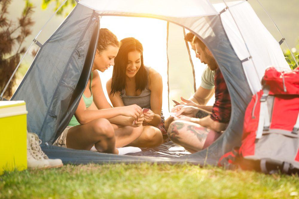Les moustiques s'en prennent aux personnes isolées d'un groupe.