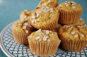 Muffins double amande pour le déjeuner