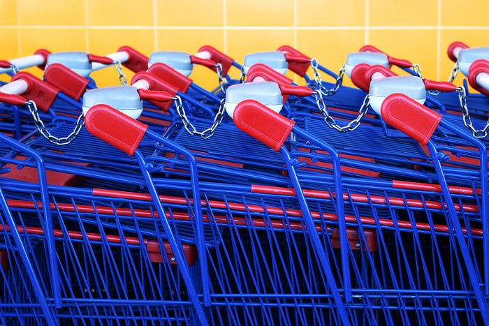 Les paniers d'épicerie sont de plus en plus gros.