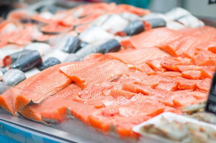 Le poisson vendu en épicerie.
