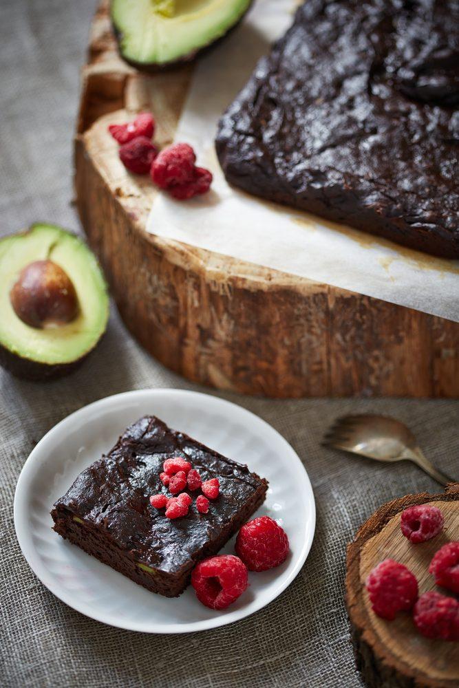 La meilleure recette de brownie au chocolat et à l'avocat.
