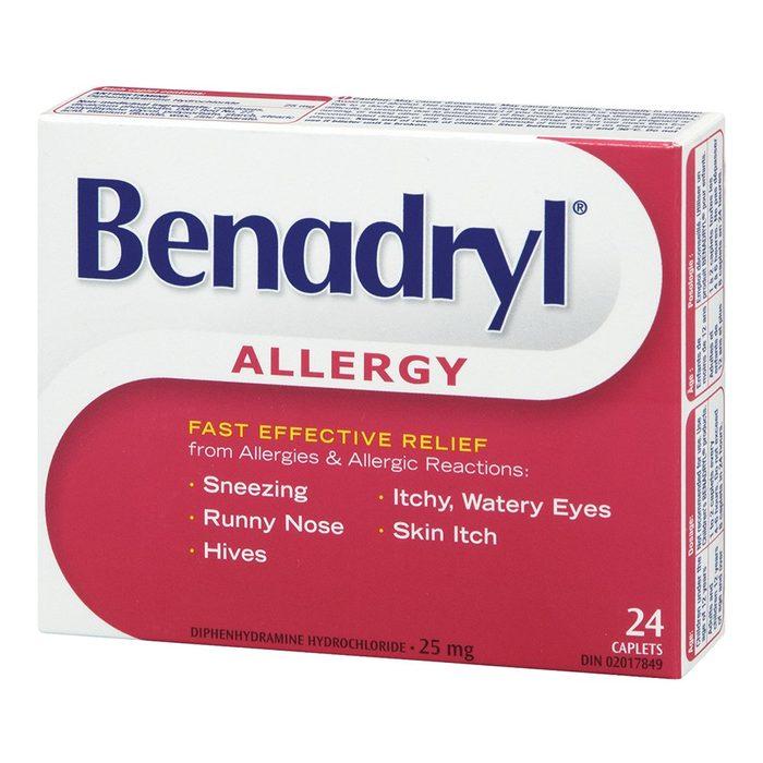 Un sédatif s'avère également un remède efficace contre le ma de transports et les nausées.