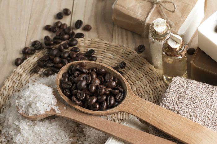 Exfoliant maison à lèvres au café