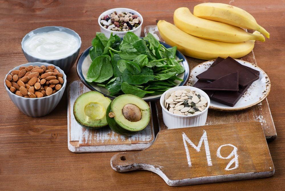 Le magnésium est présent dans certains aliments.