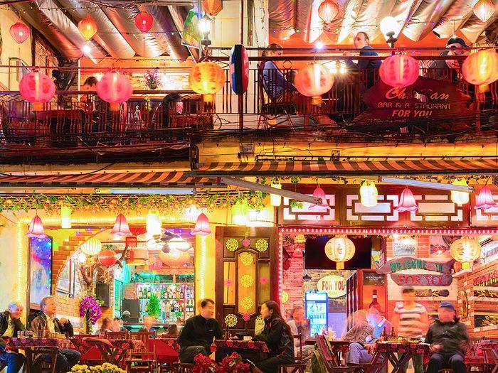 Pour boire une bière, Hanoï est l'une des meilleures villes.