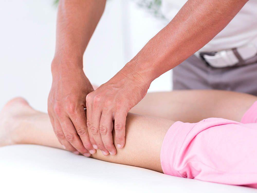 Secret de chirurgien: attention si vous avez une douleur dans le mollet