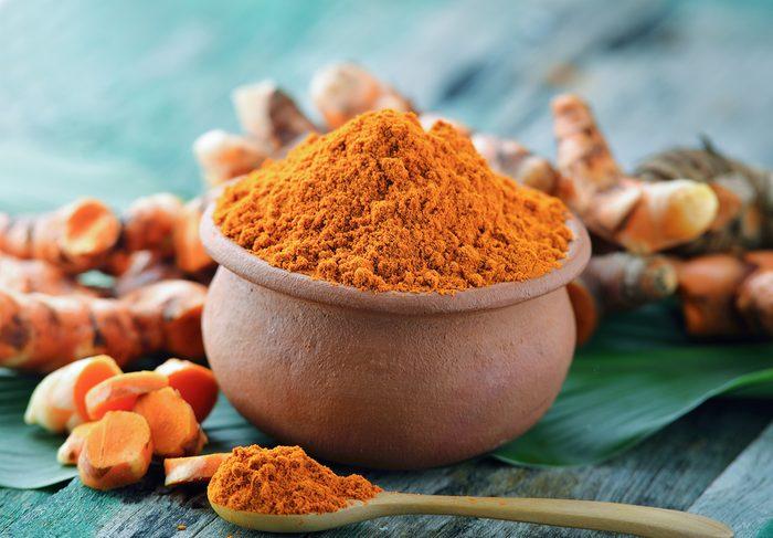 Le pouvoir antioxydant du curcuma.