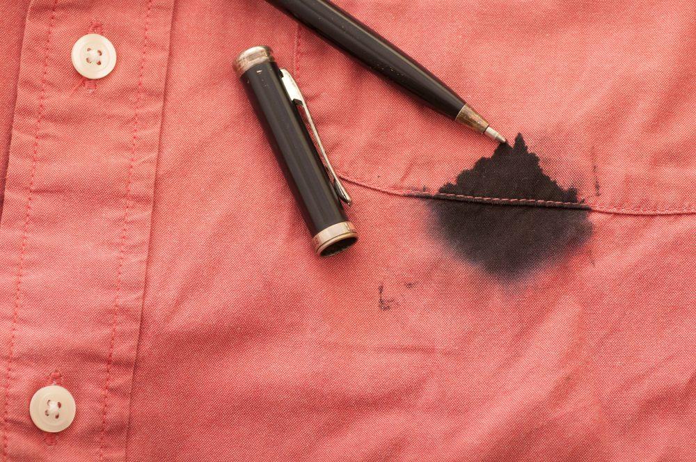 Les meilleurs trucs et conseils pour enlever les taches d'encre.