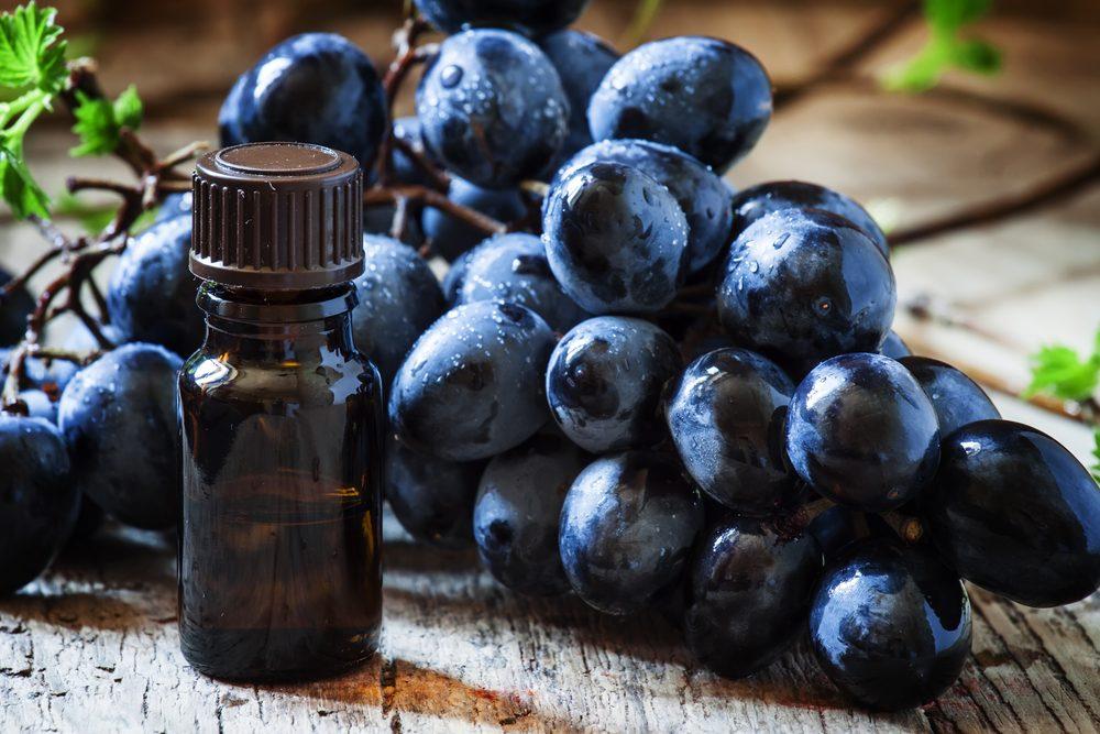 Les bienfaits et vertus santé de l'extrait de pépins raisins.