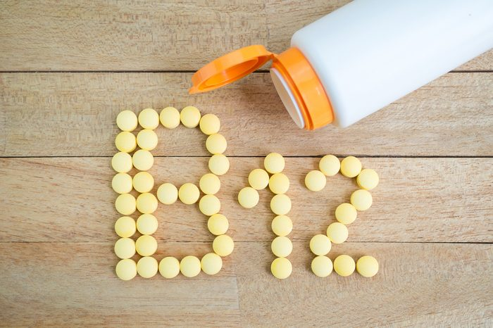 Vous avez toujours froid car vous souffrez d'une carenceenvitamine B12 ou enfer