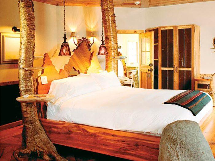 Chambre de l'hôtel Winivian.