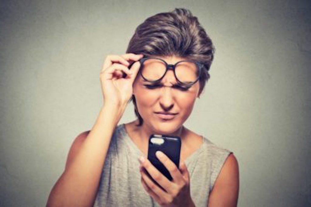 Problèmes de vision, utilisez la méthode de Bate