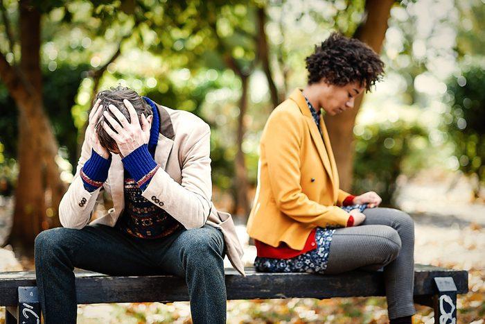 Indice que votre conjoint ne vous aime plus: il ne voit plus de projets communs avec vous.