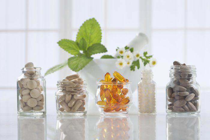 Les plantes sous forme de suppléments