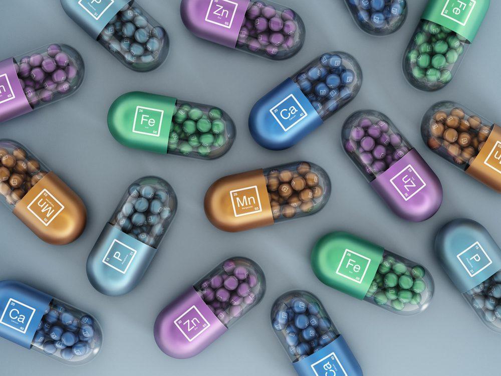 Les minéraux : des suppléments pour une santé osseuse