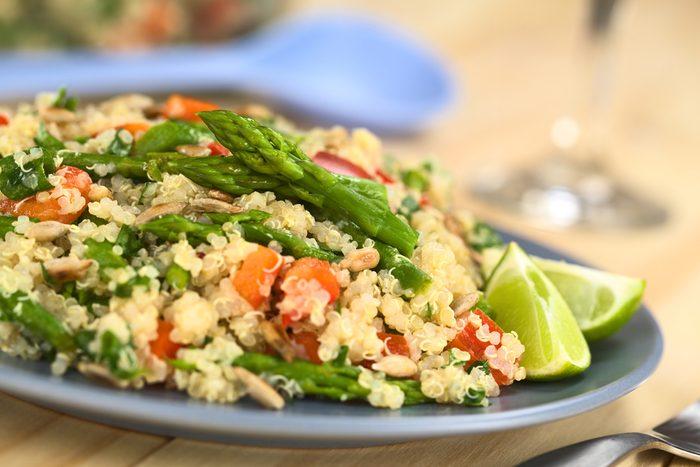 Une recette de salade pour cuisiner le quinoa
