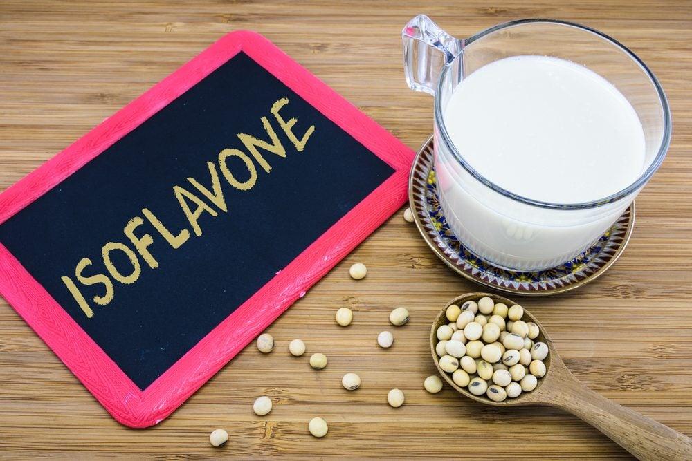 Des supplements à base d'isoflavones