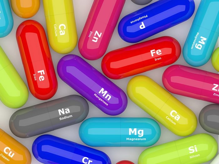 Les minéraux chélatés comme suppléments.