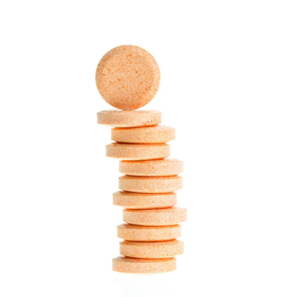 Des suppléments sous forme de pastilles.