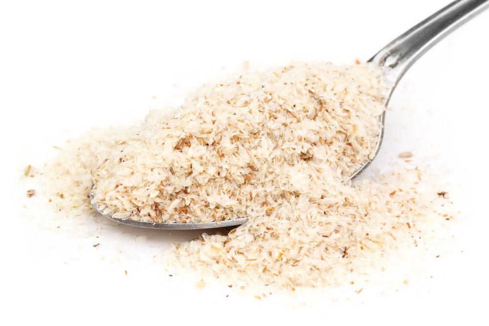 Des suppléments nutritionnels en poudre.