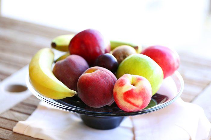 Le vinaigre pour vous débarrasser des mouches à fruits.