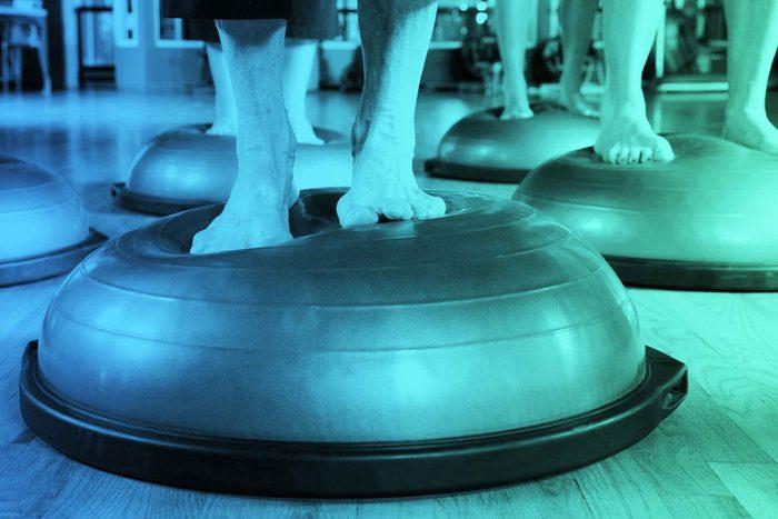 Cet exercice pourrait nuire à l'alignement de votre colonne vertébrale.
