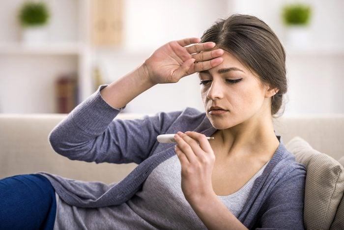 Une fièvre anormale peut s'avérer un indice de leucémie.