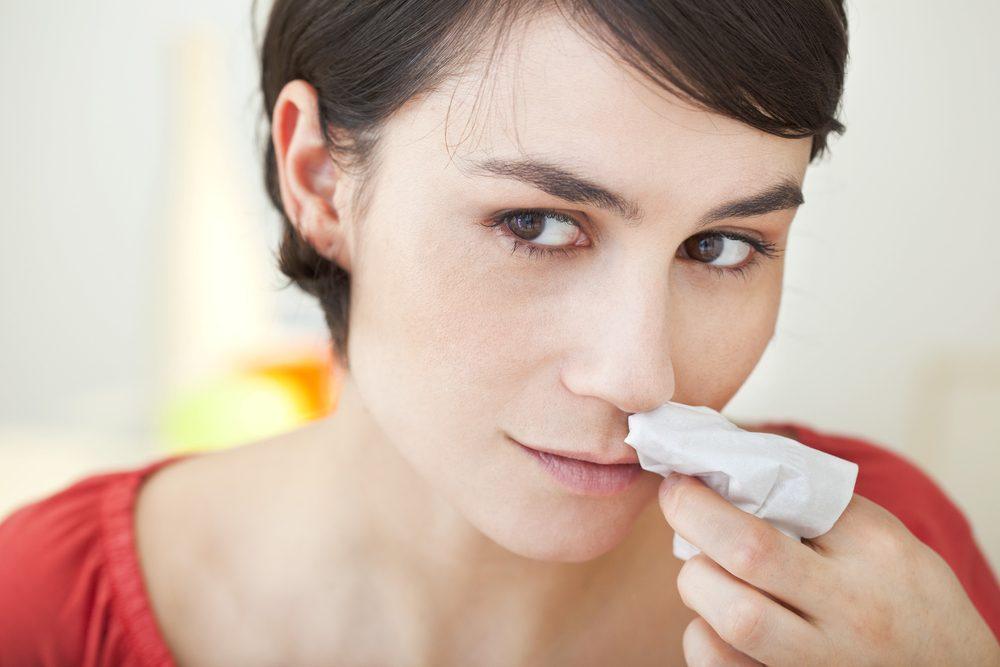 Un odorat déficient est un signe de dépression nerveuse.