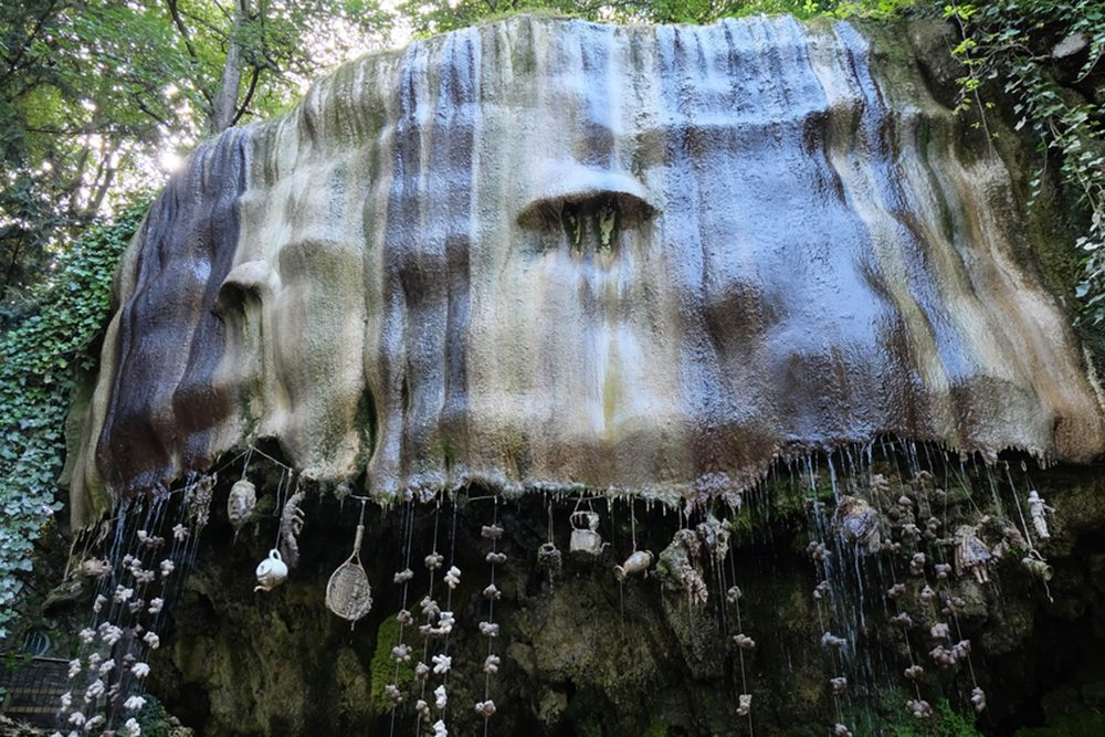Une bizarre attraction touristique Une bizarre attraction touristique, le Petrifying Well, le Petrifying Well