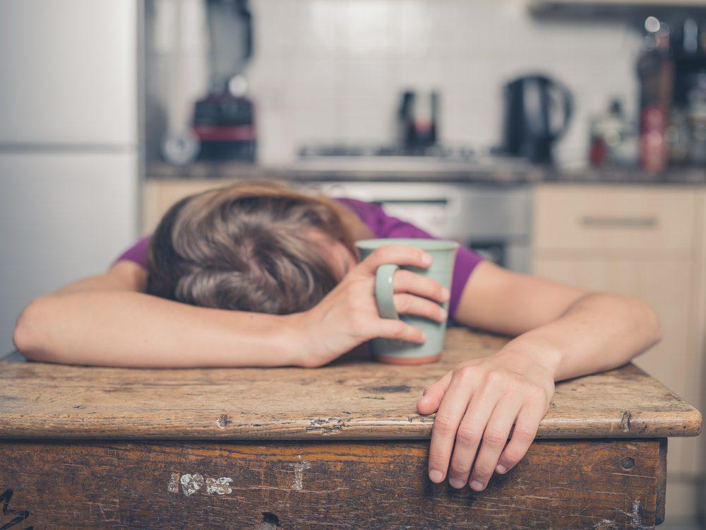 Parmi les symptômes de la leucémie, la fatigue.