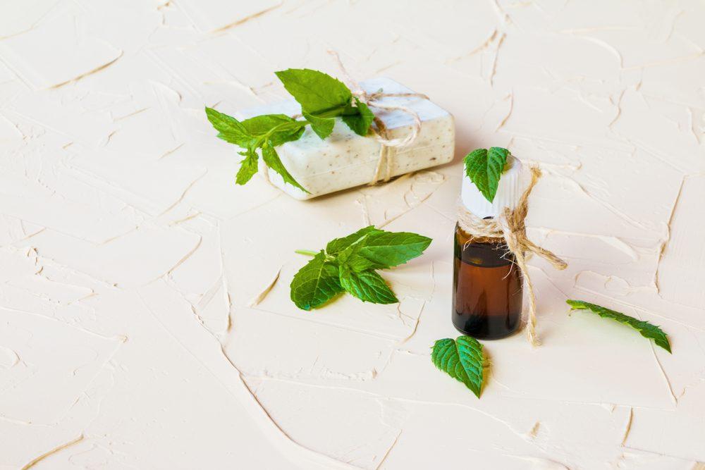 Prendre des suppléments de menthe poivrée